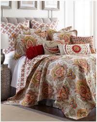 Paisley Bedroom Luxury Paisley Quilt Collection Main View Levtex Bedding