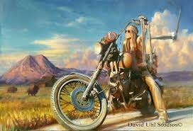 moto art. betsy huelskamp painting by david uhl giveaway moto art