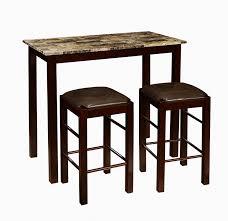 breakfast set furniture. amazoncom roundhill furniture brando 3piece counter height breakfast set espresso finish table u0026 chair sets