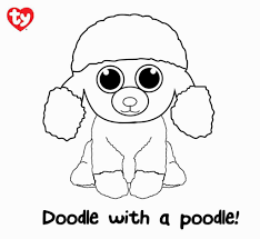 Cooloring Book 41 Stunning Ty Beanie Coloring Pages Free For