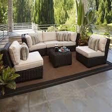 allen roth blaney 6 piece outdoor conversation set allen roth heavy duty patio furniture