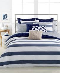 nautica home lawndale navy twin duvet cover mini set bedding collections bed bath