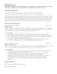 Building A Good Resume Roofing Resume Samples Building Laborer ...