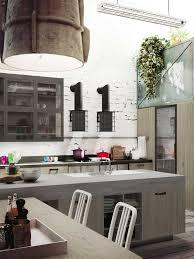 Loft Kitchen Expression Of The Latest Urban Trends Loft Kitchen Decoholic
