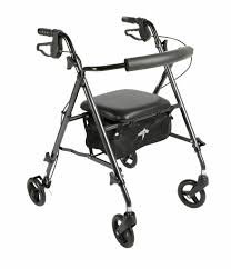 Ultra Light Rollator Medline Freedom Ultralight Rollator 4 Colors Choices Mds86825sl