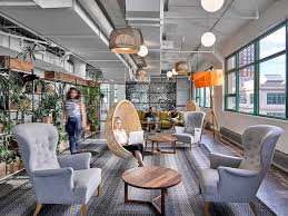 Creative office space large Loft Etsy Hanging Basket Chair Office Design Freshomecom Freshomecom Office Design Envy Awesome Office Spaces At 10 Brands You Love