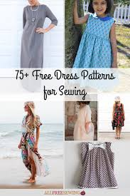Free Printable Smocking Designs For Baby Dresses 75 Free Dress Patterns For Sewing Allfreesewing Com