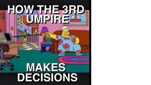 Ashes video umpire gets meme treatment after DRS disaster | The ... via Relatably.com