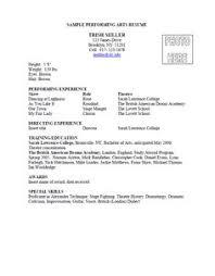 38 Best Arts Resume Portfolio List Images Resume Resume