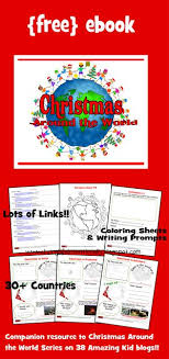 Christmas Around The World And A FREEBIE  Flip Books Flipping Christmas Around The World Crafts For Preschoolers