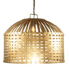 gold cage chandelier