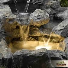 good rock water fountain outdoor natural indoor rock fountains