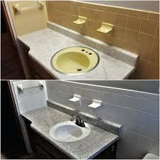 refinish bathroom sink bathtub refinishing sink refinishing before after to view how much does it
