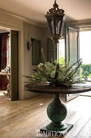 pedestal entry table