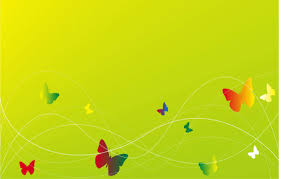 elegant green bg with erfly background wallpaper for powerpoint presentations