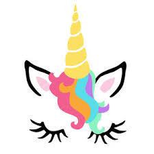 Silhouette Design Store View Design 209849 Unicorn Face