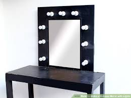 How To Make A Vanity Mirror With Lights Best How To Make A Makeup Mirror With Lights 32 Steps With Pictures