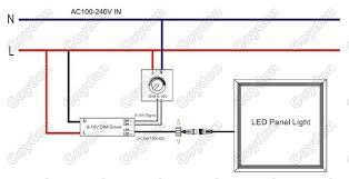 v led panel light manufacturer supplier exporter 0 10v control wiring diagram