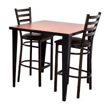 counter height kitchen chairs. 76 OFF Counter Height Kitchen Table And Two Chairs Tables