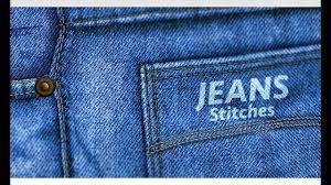 Jeans Stitches Design Photoshop Tutorial Youtube
