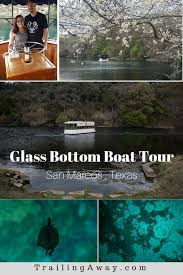 the historic san marcos glass bottom boat tour is a great way to learn about