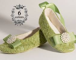 ivory flower girl shoes baby wedding ballet slipper beige Wedding Shoes For Girl green lace baby shoe, toddler, little girl, green flower girl shoe, ballet wedding shoes for girls size 4