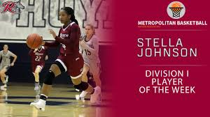 Stella Johnson Named the MBWA Division I Player of the Week - Metro  Atlantic Athletic Conference