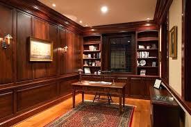office paneling. Office Wood Paneling Dark Modern