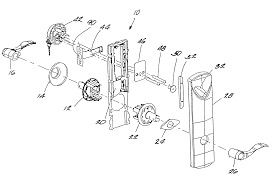door handle parts diagram. Backyards Door Handles Parts Car Handle Components Set Lock Diagram I