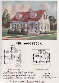 small cape cod house plans. Delighful Plans 1950 Nationwide House Plan Service  The Woodstock Throughout Small Cape Cod Plans U
