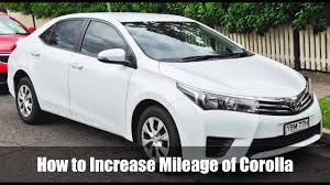 100% Working Trick to Increase Mileage of Toyota Corolla Altis ...