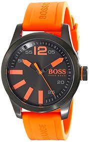 "boss orange men s 1513047 paris analog display ese quartz ï"""" ï""…"