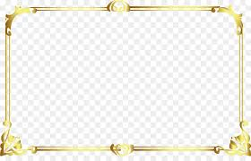 icon lovely old golden frame png