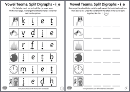 Consonant digraphs are phonemes that are represented by two graphemes, or if you like, one sound that is represented by two consonant letters such as the sh in ship, the ch in chop, the th in math, the ng in king, the ck in duck, and the. How To Teach Vowel Teams Phonics Hero