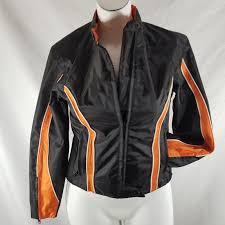 hot leathers m motorcycle jacket nylon racer and 50 similar items s l1600