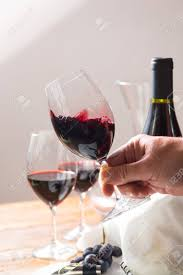 high quality wine glasses. Beautiful Quality Professional Red Wine Tasting Event With High Quality Glasses And  Accessories Close Up Stock In High Quality Wine Glasses