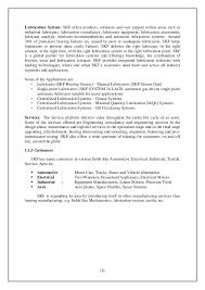 Skf Work Report