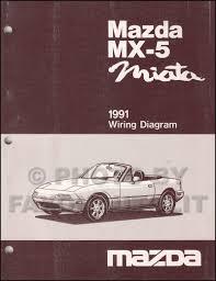 1991 mazda mx 5 miata wiring diagram manual original