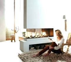 idea two way fireplace or electric double sided 2 ideas about decorating ele