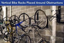 create vertical bike storage with these
