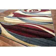 brown and blue area rugs modern area rug red beige blue brown wave swirls living room color scheme blue gray brown area rug