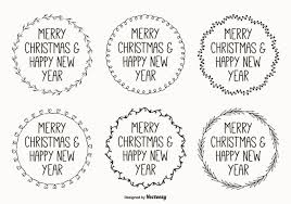 Cute Hand Drawn Style Christmas Labels 148822 Welovesolo