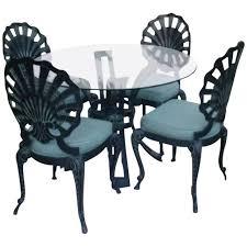 art deco outdoor furniture. Art Deco Outdoor Patio Furniture - Table \u0026 4 Chairs Image 1 . C