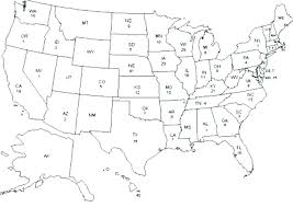 Blank Us Map Coloring Page Map Coloring Pages United States Map For