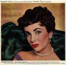 1950s eye makeup eyeshadow 1952 evening eye shadow worn by elizabeth taylor