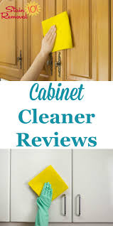 Cabinet Magic Cleaner Cabinet Cleaners Reviews Which Products Work Best