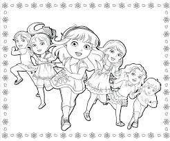 coloring pages dora and friends coloring pages and friends coloring pages to and print for