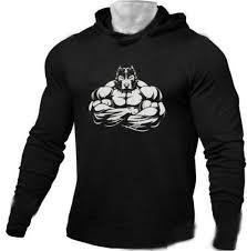 2019 Mens Gym Beast Wear Hoodies Printing Gym Hoodie Long Sleeve Solid Color Hooded Athletic Casual Sports Sweatshirts Tops Long Sleeves From Ebayfj