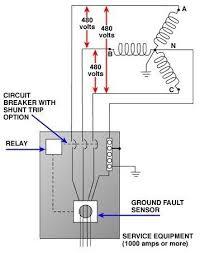 thermostat wiring diagram shunt trip Shunt Breaker Wiring Diagram Elevator Shunt Trip Breaker Wiring Diagram