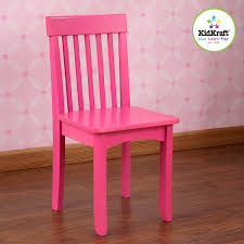 Kidkraft Petal Pink Kitchen Amazoncom Kidkraft Avalon Chair For Children Rasberry Toys Games